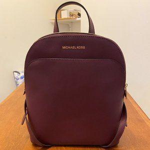 Michael Kors Large Backpack Burgundy